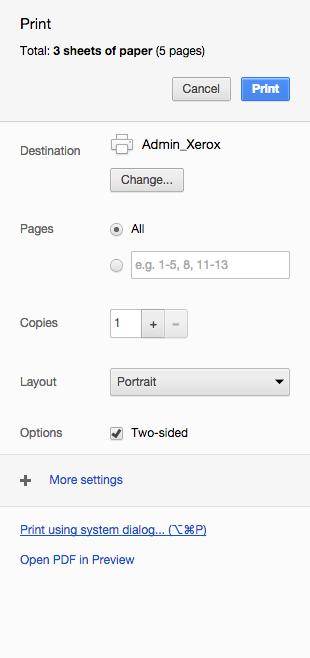 Chrome_Print using system dialog